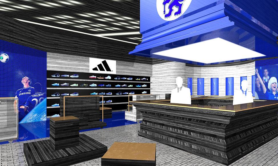 Chelsea FC-design-retail-designers-Sydne