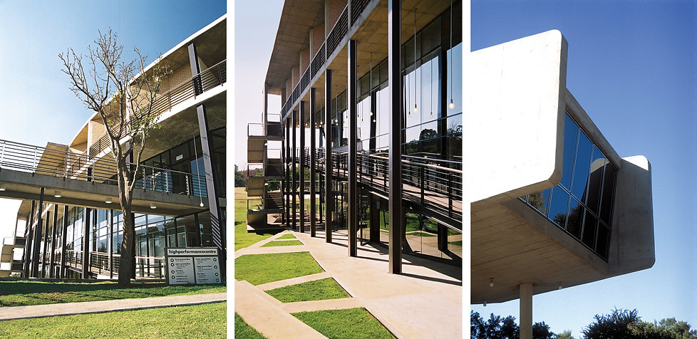 Sports Academy masterplan and hospitality design for HPC at University of Pretoria by SOUNDSPACEDESIGN Archiects Sydney