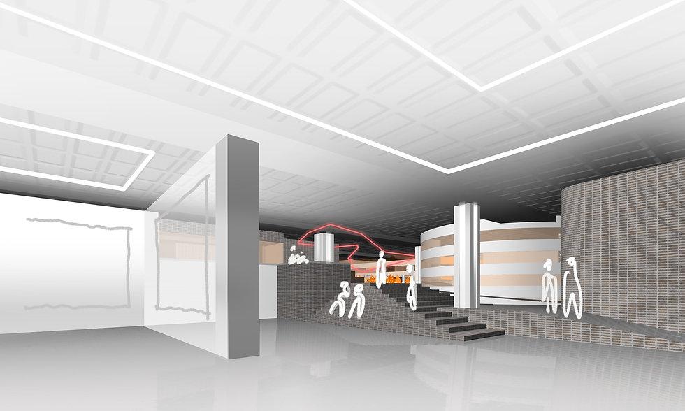Art Gallery design architect interiors SOUNDSPACEDESIGN Architects Sydney Johannesburg Los Angeles