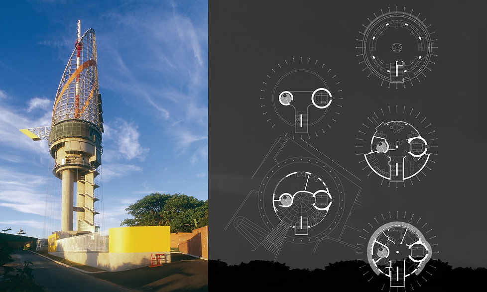 Millennium Tower Port Control Tower Durban Harbour by SOUNDSPACEDESIGN Architects Sydney