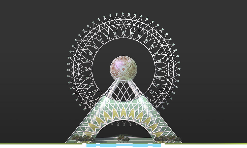 ARUP Tallest GOW Giant Observation wheel in the world by SOUNDSPACEDESIGN Architects Sydney
