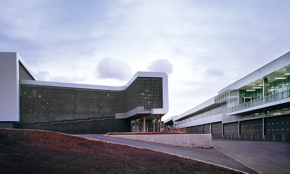 Contemporary award-winning distribution centre design by SOUNDSPACEDESIGN Architects Sydney