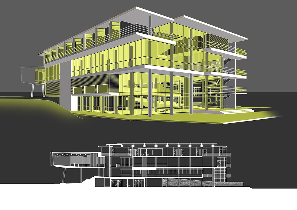 Sports Academy high performance centre masterplan and hospitality design for HPC at University of Pretoria by SOUNDSPACEDESIGN Archiects Sydney