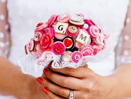 Букет невесты без цветов: ШОК!