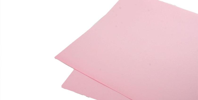 Розовая матовая бумага