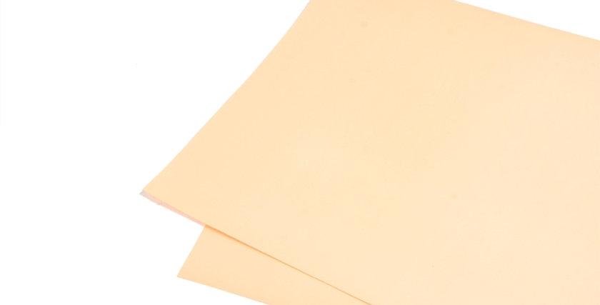 Бежевая матовая бумага