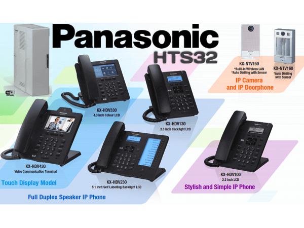 Panasonic HTS32 - Interfone - Aparelhos - Sip