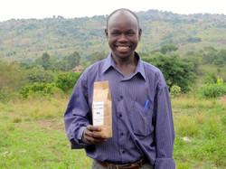 West Nile coffee farmer