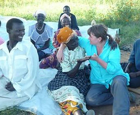 Alison Hall MBE meets the farmers in northern Uganda