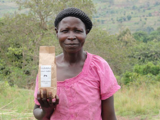 West Nile Coffee Farmer Uganda
