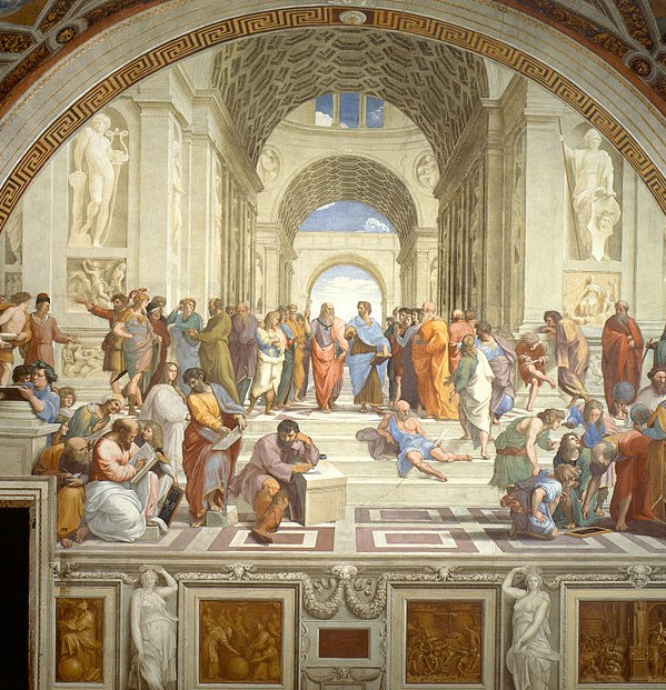 The School of Athens liberal arts