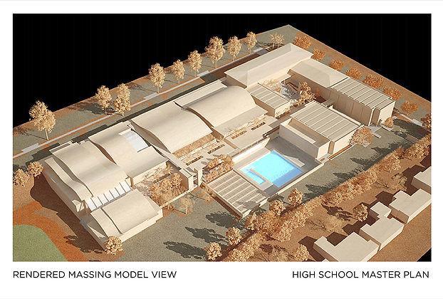 La Salle High School Master Plan Site Model David Goodale Architect