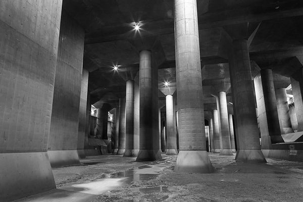 Tokyo undergroound flood relief and investment in national infrastructure