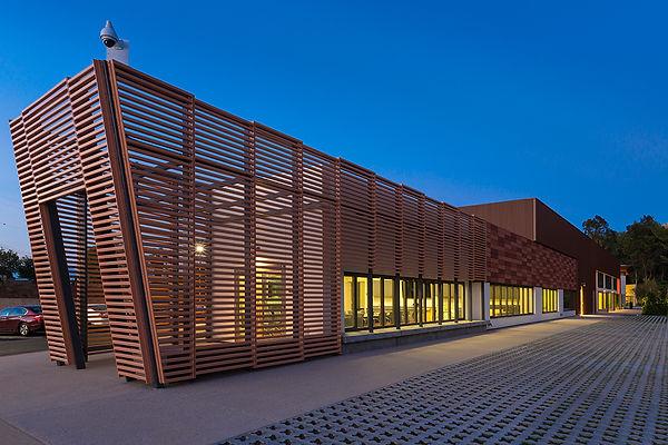 community center linear architecture