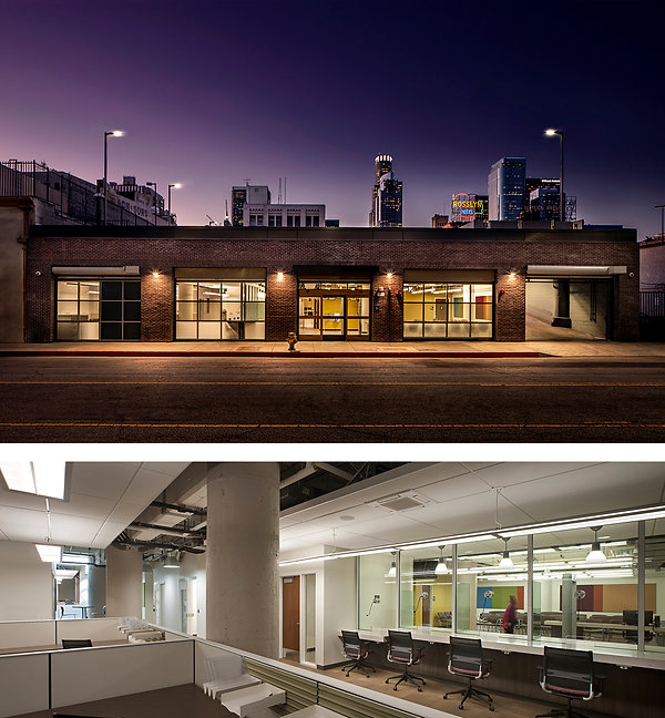 Downtown mental health center architecture and interiors