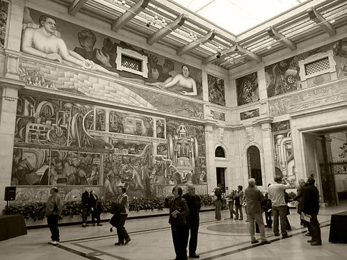 Detroit Art Institute, Rivera murals and the rich culture of the city and its citizens
