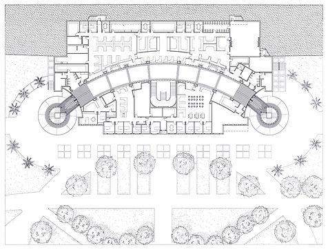 Student Services floor plan