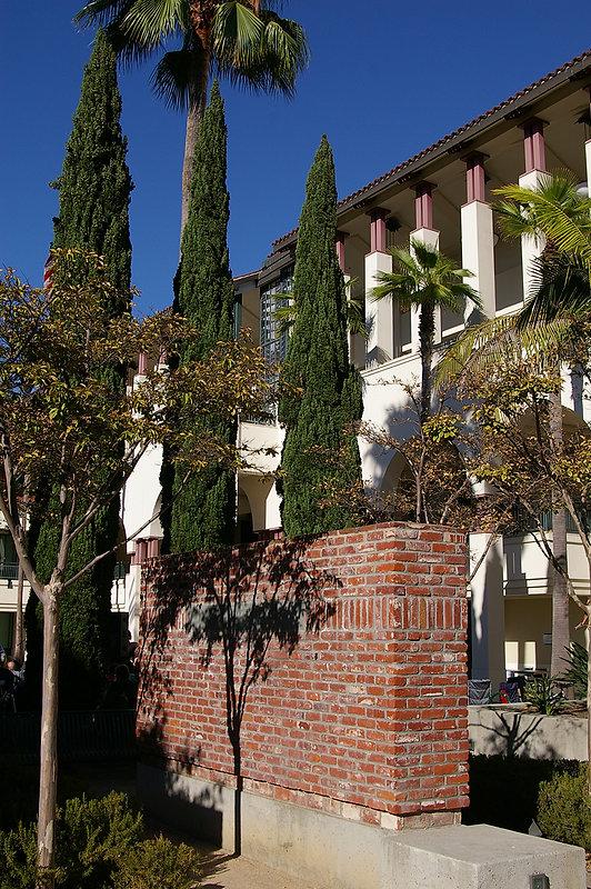 City hall lush garden, public art, public outdoor gallery