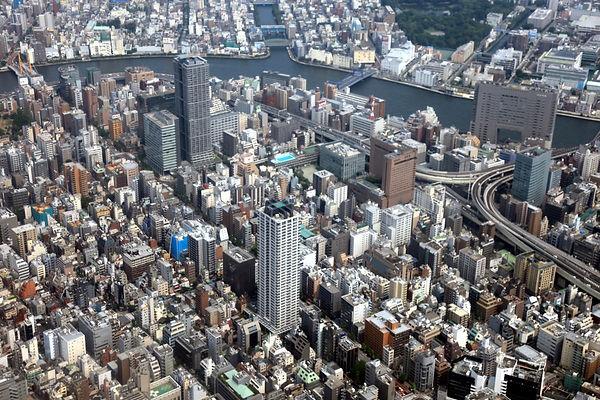 Tokyo Aerial river