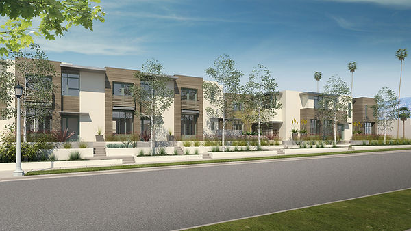 Contemporary housing architecture terraced landscape enriching setbacks