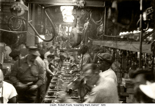 Detroit and polyglot factories of working people