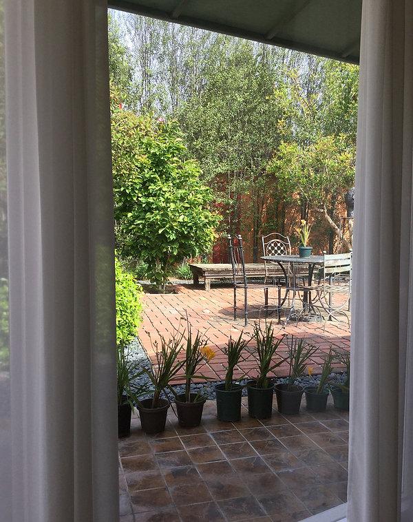 Garden courtyard live work Goodale Architecture Plannng