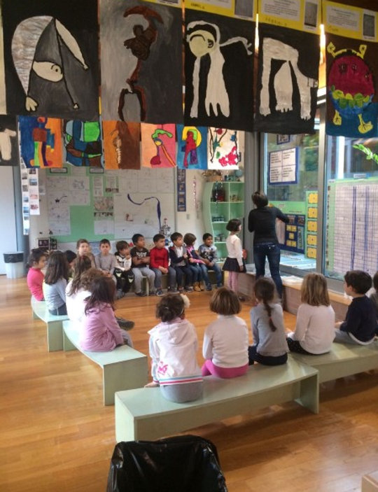 Reggio Emilia influence classroom
