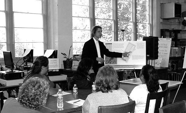 David Goodale Architect community participation presentation school design LAUSD
