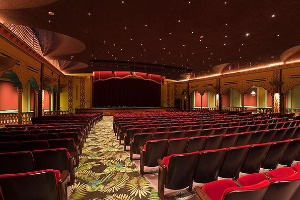 Cocoanut Grove RFK High School interior design auditorium