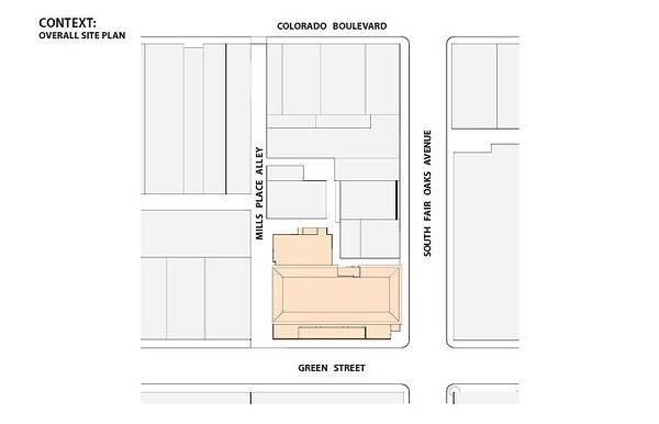 Old Pasadena mixed use context plan