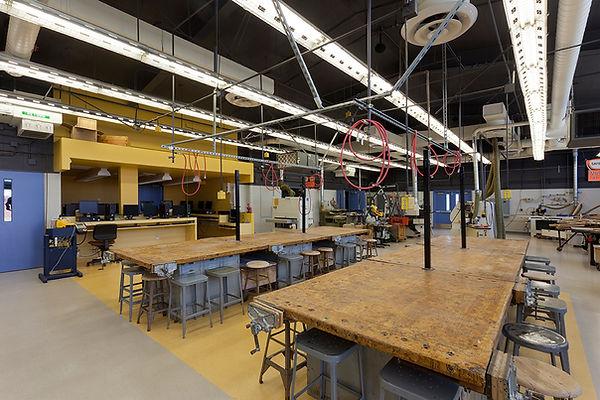technology shop interior architecture K-12