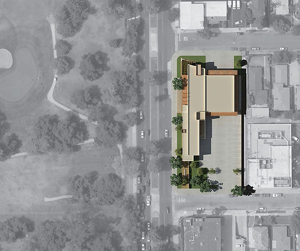 Arcadia Fire Station, Site Plan, David Goodale AIA, civic architecture