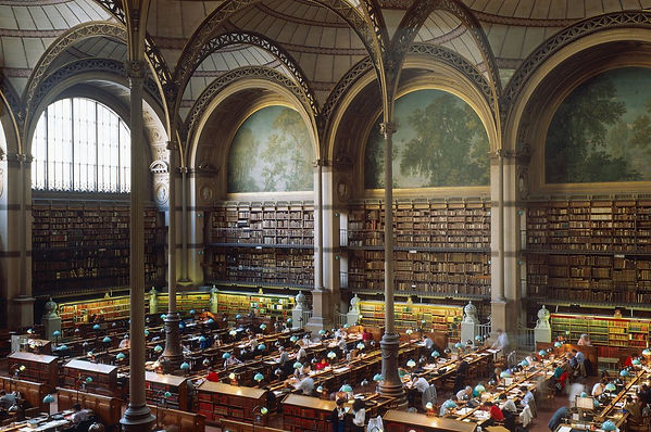 Bibliotheque Nationale Paris, Temple to the Book