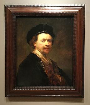 Rembrandt Self-Potrait Norton Simon Museum