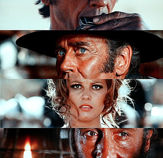 Once Upon a Time in the West, Conventions, Invention, Architecture