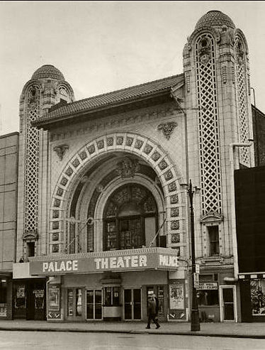 Detroit Palace Theater and ciy culture