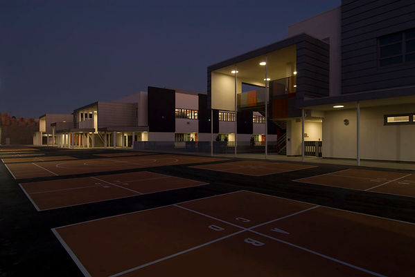 RFK school night view architectural cadence
