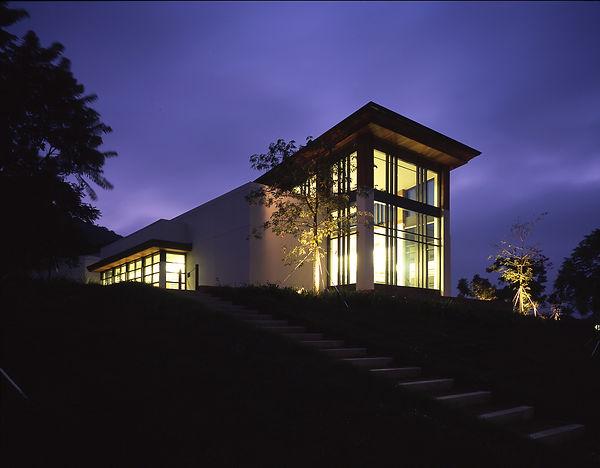 Westlake Village Civic Center night view