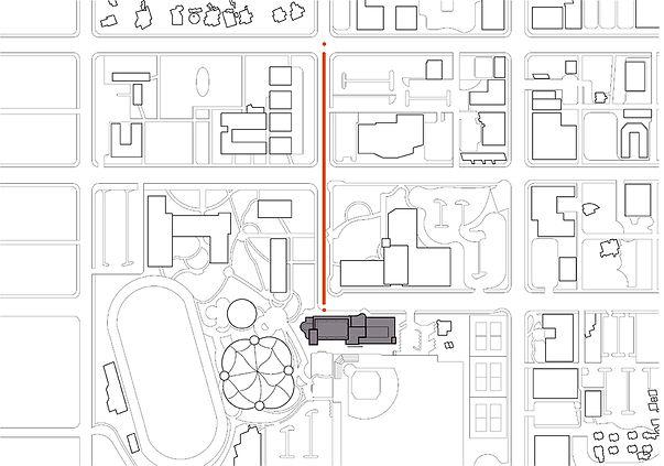 Campus Center site analysis