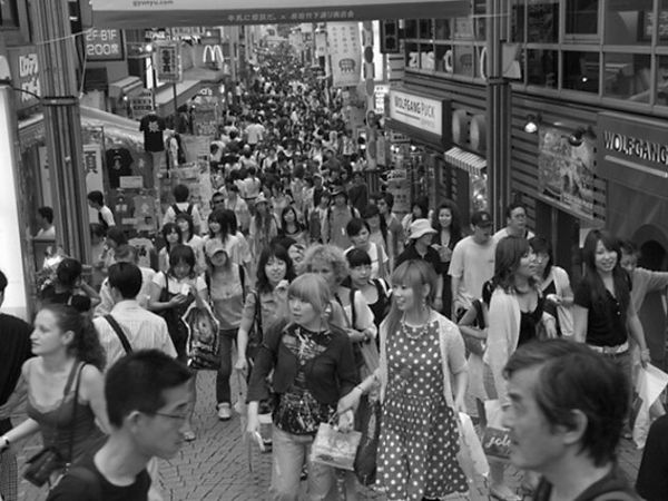 Tokyo's urban hyper-density