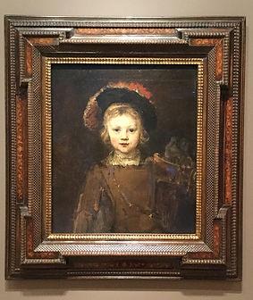 Rembrandt Child portrait