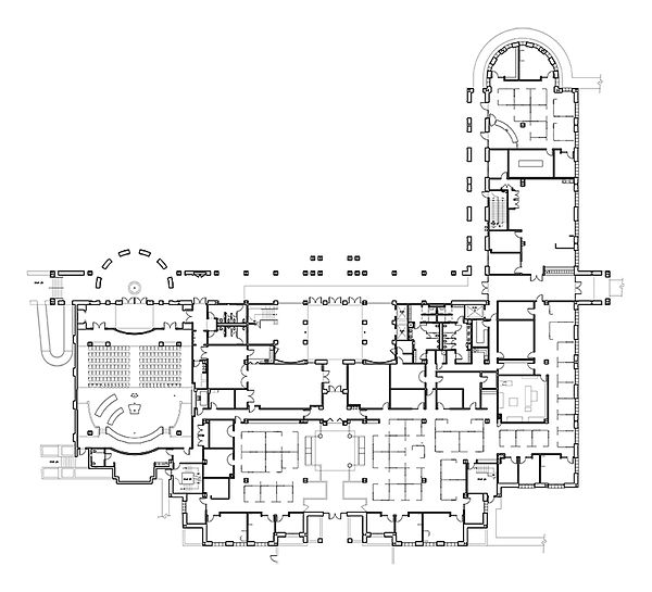 Culver City Hall floor plan