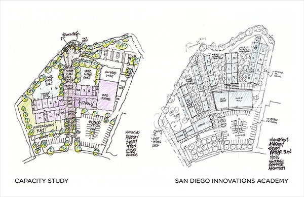 David Goodale Architect Site Capacity Study Charter School San Diego Innovations Academy