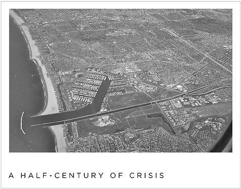 Barren flatlands of Los Angeles not unlike Tokyo ater Allied bombing