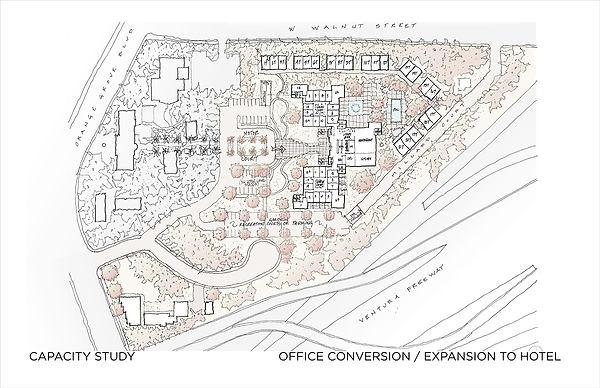 David Goodale Architect Site Capacity Study Office to Hotel Conversion Avery Pasadena