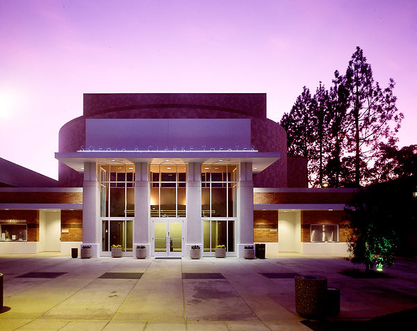 Mt Sac performing arts center lobby architecture