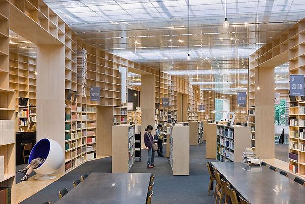 Musashino Art School Library, Sou Fujimoto, Celebrating the artifact of the book