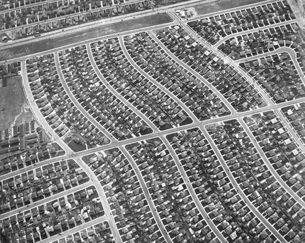 Southern California, the single family ranch house, and anti-urbanism;