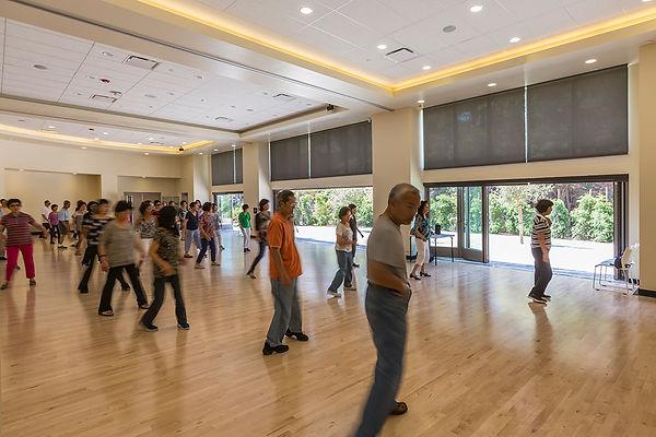 community center indoor-outdoor multipurpose architecture