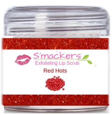 Red Hots Lip Scrub